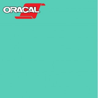 Oracal 751C Plakfolie Glans Mint 055