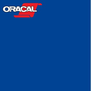 Oracal 751C Plakfolie Glans Traffic Blue 057