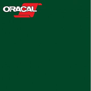 Oracal 751C Plakfolie Glans Dark Green 060