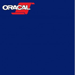 Oracal 751C Plakfolie Glans Cobalt Blue 065