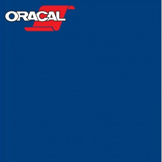Oracal 751C Plakfolie Glans Blue 067
