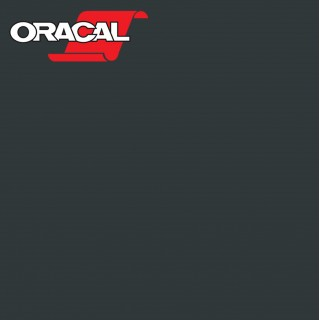 Oracal 751C Plakfolie Glans Black Matt 070M