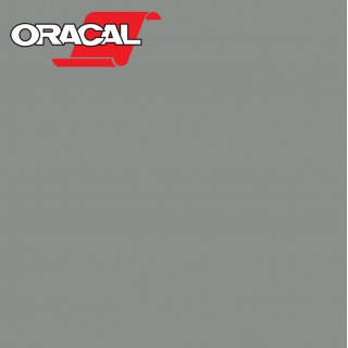Oracal 751C Plakfolie Glans Middle Grey 074