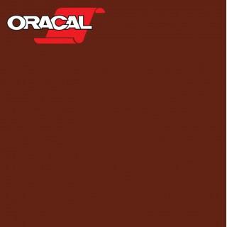 Oracal 751C Plakfolie Glans Red Brown 079