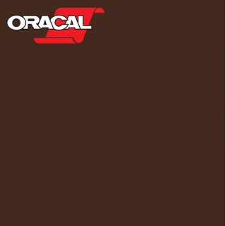 Oracal 751C Plakfolie Glans Brown 080