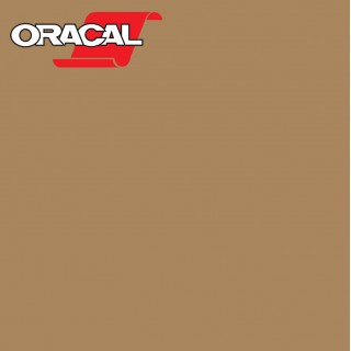 Oracal 751C Plakfolie Glans Light Brown 081