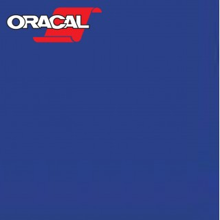 Oracal 751C Plakfolie Glans Brilliant Blue 086