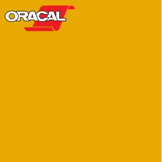 Oracal 751C Plakfolie Glans Post Office Yellow 208