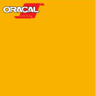 Oracal 751C Plakfolie Glans Yolk Yellow 219