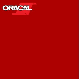 Oracal 751C Plakfolie Glans Crimson Red 306