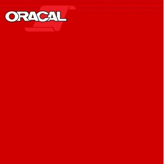 Oracal 751C Plakfolie Glans Blood Red 324