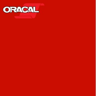 Oracal 751C Plakfolie Glans Middle Red 325