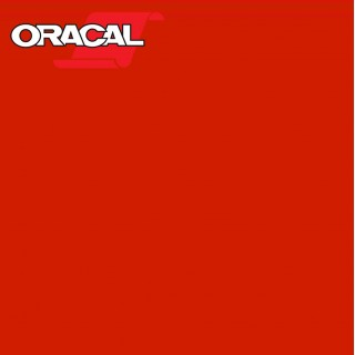Oracal 751C Plakfolie Glans Signal Red 326