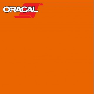 Oracal 751C Plakfolie Glans Deep Orange 332