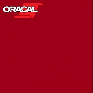 Oracal 751C Plakfolie Glans Scarlet Red 348