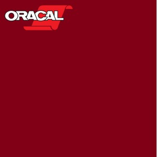 Oracal 751C Plakfolie Glans Apple Red 361