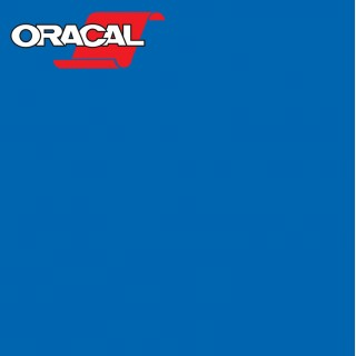 Oracal 751C Plakfolie Glans Capri Blue 507
