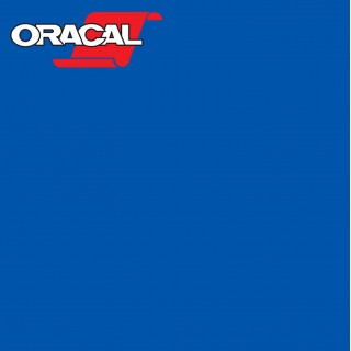 Oracal 751C Plakfolie Glans Signal Blue 508