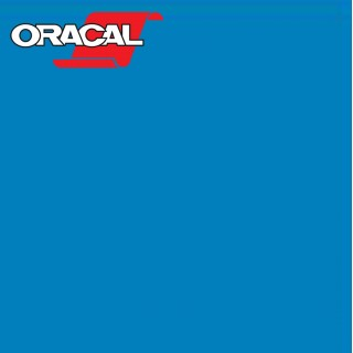Oracal 751C Plakfolie Glans Euro Blue 517