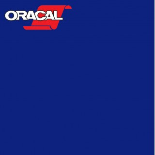 Oracal 751C Plakfolie Glans Striking Blue 593