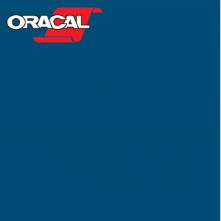 Oracal 751C Plakfolie Glans Blue Green 595