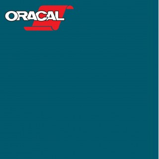 Oracal 751C Plakfolie Glans Petrol 608