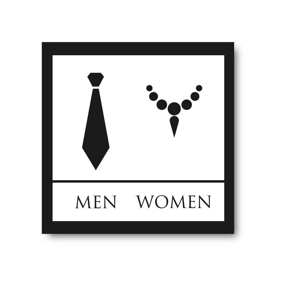 Toilet sticker men & woman