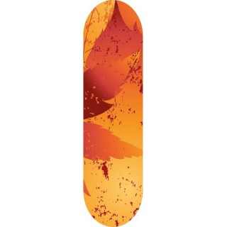 Skateboard stickers Autumn Breeze