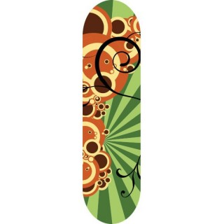 Skateboardsticker Bubble Burst