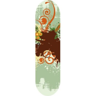 Urban Nature Skateboard stickers