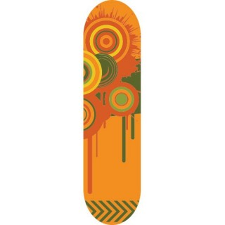 Sun Melt Skateboardstickers