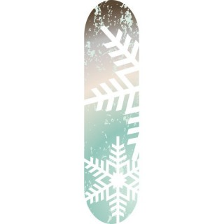 Winter breeze Skateboard stickers