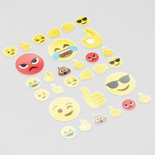 Smiley 3 Emoji Sticker