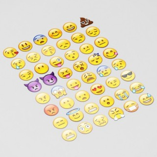 Smiley Apple en Whatsapp Emoji Sticker