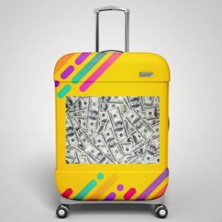 Dollars koffer stickers