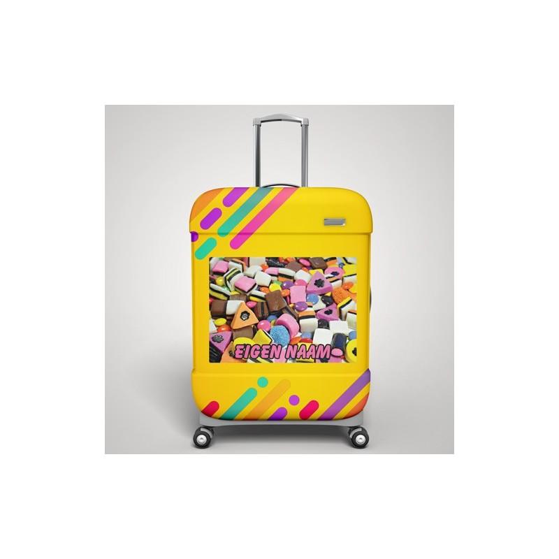Engelse drop koffer stickers