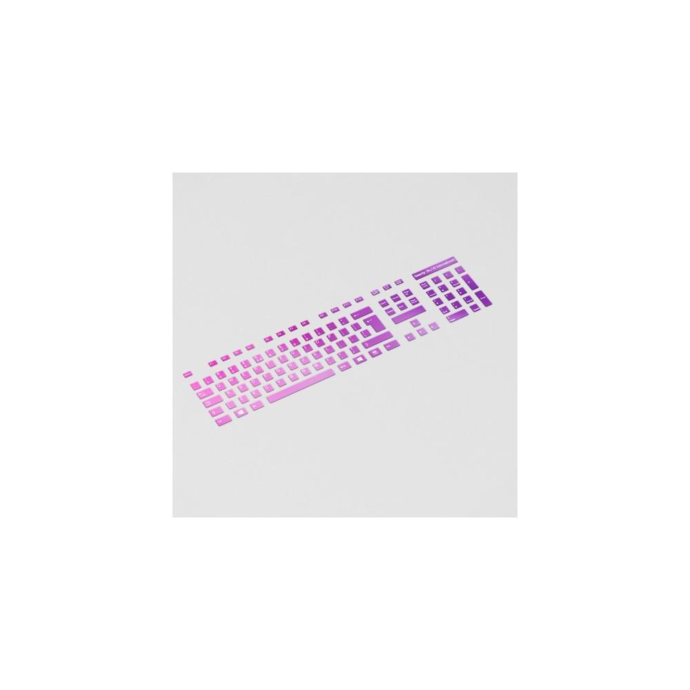Toetsenbord letters - Roze/Paars