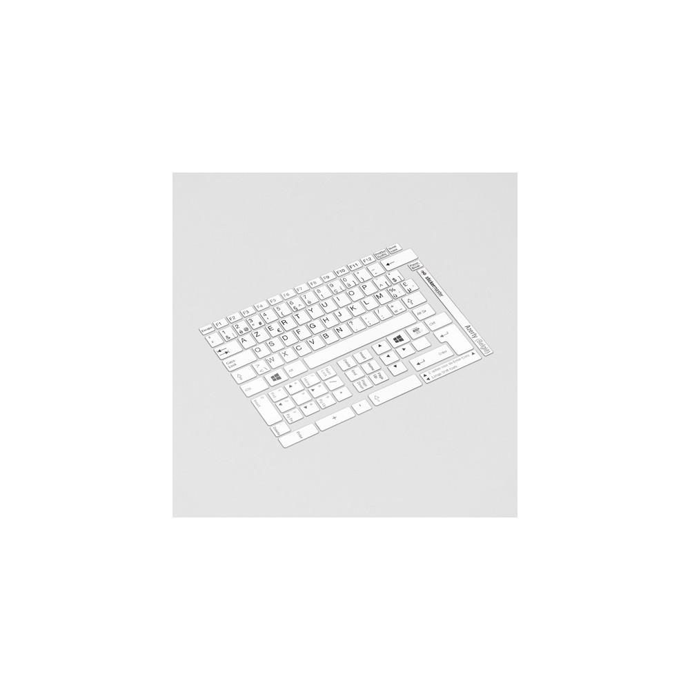 AZERTY (België) Toetsenbord letters - Wit