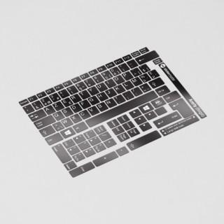AZERTY (België) Toetsenbord letters - Zwart
