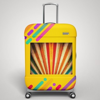 Uw eigen ontwerp! koffer stickers