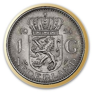 Euromunt Guldens en Rijksdaalders