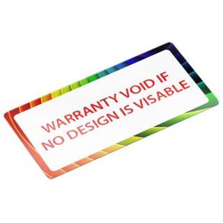 Ontwerp je eigen garantie stickers