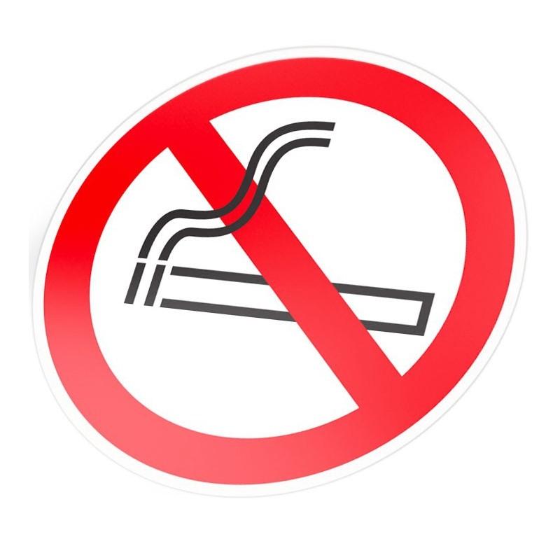 Verboden te roken stickers pictogram 2