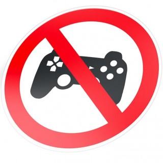 Verboden voor PS4 gamers