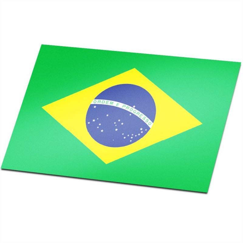 vlagsticker brazilië