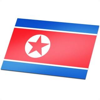 Vlag Noord Korea