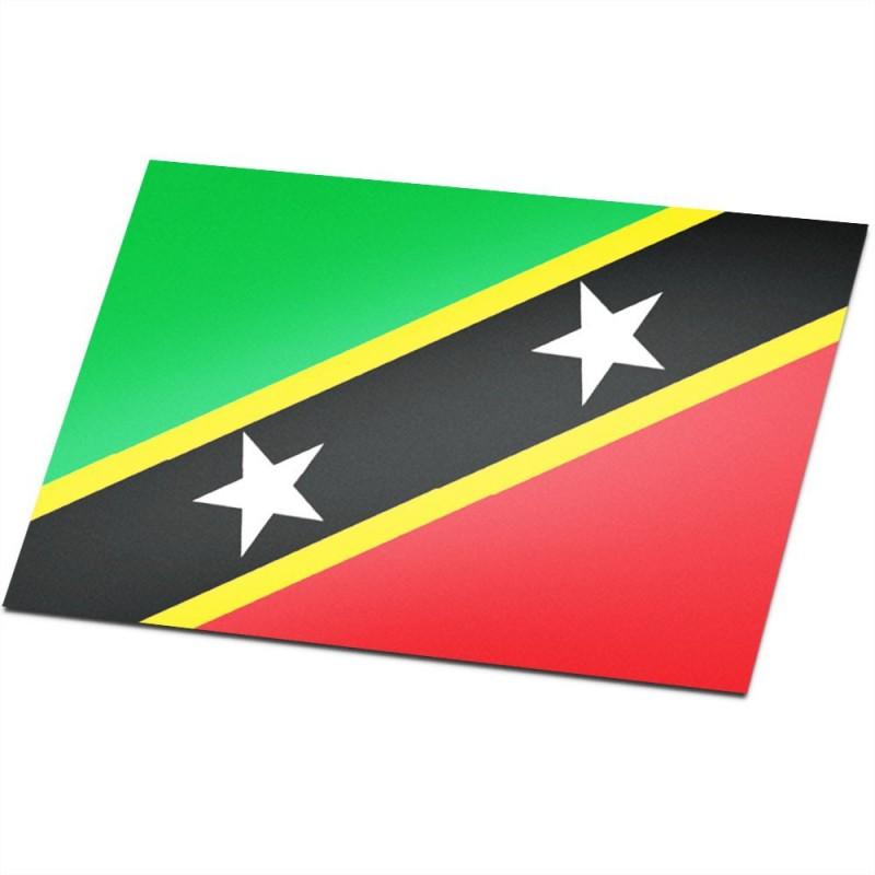 Vlag Saint Kitts en Nevis