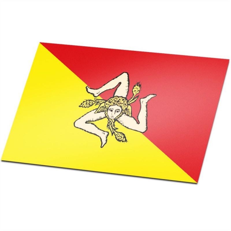 Vlag Sicilië