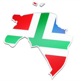 Provincie sticker Groningen
