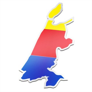 Provincie sticker Noord-Holland